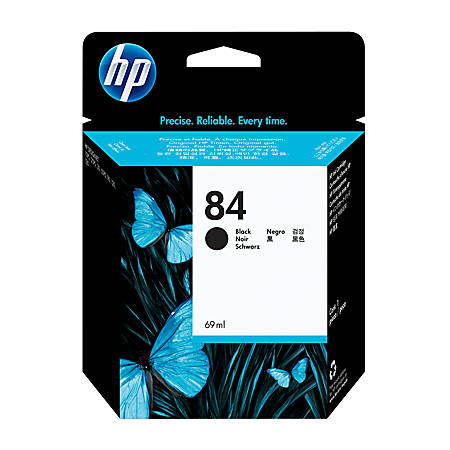 HP 84, Black Ink Cartridge (C5016A)