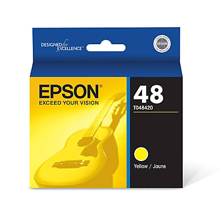 Epson® 48 (T048420) Yellow Ink Cartridge