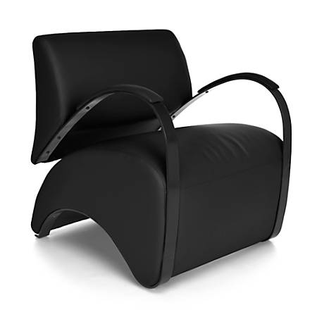 OFM Recoil Series Lounge Chair, Black