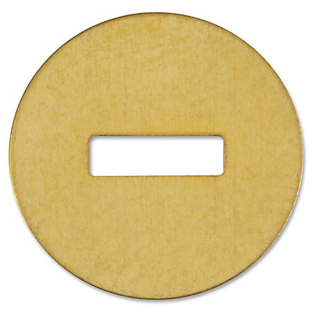 ACCO® Brass Washers, For Fastener Size Nos. 5-9, Box Of 100