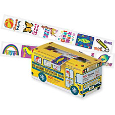 Pacon Big School Bus Reward Stickers