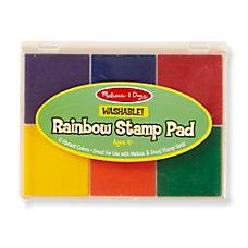 Melissa Doug Rainbow Stamp Pad Kindergarten