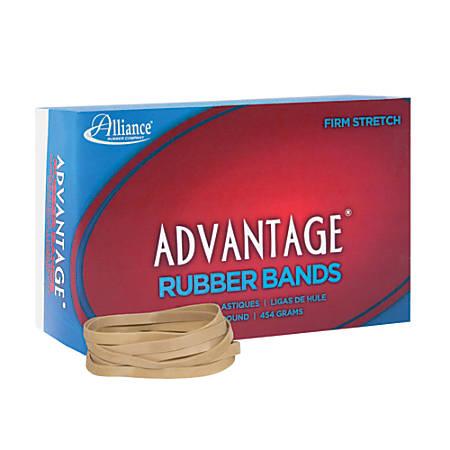 """Alliance® Advantage® Rubber Bands In 1-Lb Box, #64, 3 1/2"""" x 1/4"""", Box Of 320"""