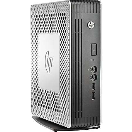 HP t610 PLUS Thin Client, AMD G-Series, 4GB Memory, 16GB Flash Drive, AMD FirePro 24607E