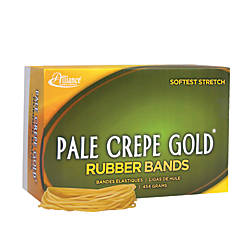Alliance Pale Crepe Gold Rubber Bands