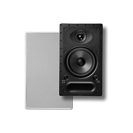 Polk Audio 65-RT Vanishing RT Series In-Wall Rectangular Loudspeaker, White, 65RT