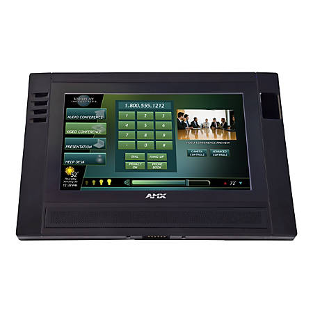 """AMX 9"""" Modero ViewPoint Touch Panel with Intercom - Wired/Wireless"""