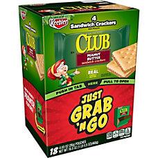 Keebler Grab N Go Peanut Butter
