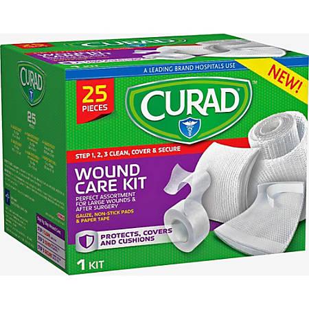 Curad Wound Care Kit - 25 x Piece(s) - 25 / Box