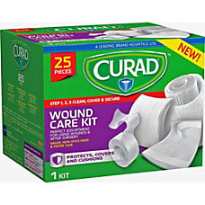 Curad Wound Care Kit 25 x
