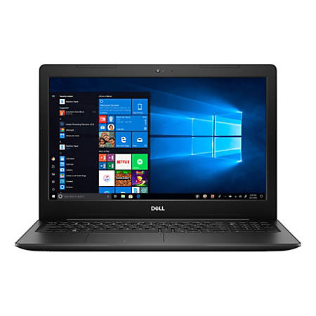 "Dell™ Inspiron 15 3000 Laptop, 15.6"" Touch Screen, 8th Gen Intel® Core™ i3, 8GB Memory, 256GB Solid State Drive, Windows® 10 Home, I3583-3919BLK-PUS"
