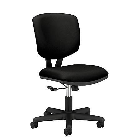 HON® Volt 5701 Basic Swivel Task Chair, Black