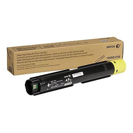 Xerox VersaLink C7000 - High Capacity - yellow - original - toner cartridge - for VersaLink C7000/DN, C7000/N, C7000V/DN, C7000V/N, C7001V_T