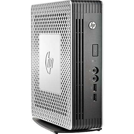 HP t610 PLUS Thin Client, AMD G-Series, 4GB Memory, 1GB Flash Drive, AMD Radeon HD 6320