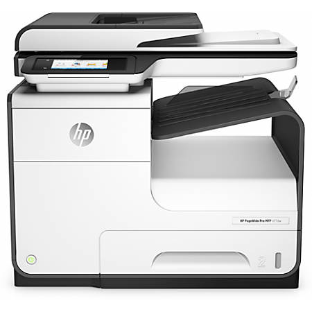 HP PageWide Pro 477dw Wireless Color All-in-One Business Printer With 120 Day Money Back Guarantee (D3Q20A)