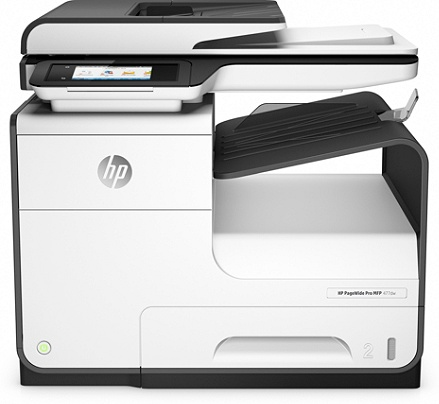 Hp Pagewide Pro 477dw Color All In One Business Printer Wireless And 2 Sided Duplex Printing D3q20a By Office Depot Officemax