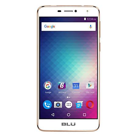 BLU Studio XL2 S0270UU Cell Phone, Gold, PBN201146