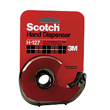 Scotch Refillable Handheld Tape Dispenser Smoke
