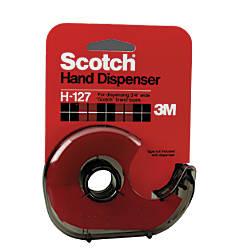 Scotch Refillable Handheld Tape Dispenser Smoke