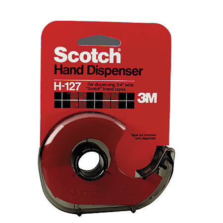 Scotch® Refillable Handheld Tape Dispenser, Smoke