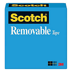 Scotch Magic 811 Removable Tape 12