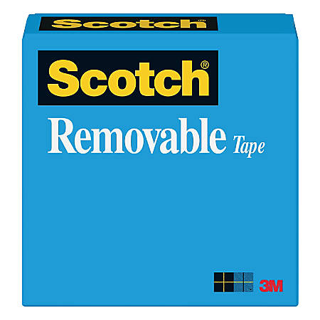 """Scotch® Magic™ 811 Removable Tape, 1/2"""" x 1,296"""", Clear"""