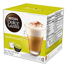 Nescafe Dolce Gusto Cappuccino Coffee Single