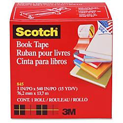 Scotch 845 Book Tape 3 x
