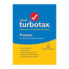 TurboTax 2019 Premier Federal EFile For