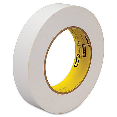 "Scotch® 256 Printable Flatback Paper Tape, 1"" x 60 Yd., White"