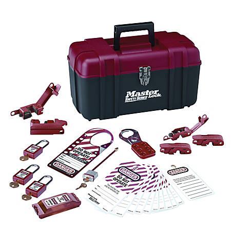 Master Lock® Electrical Lockout Kit