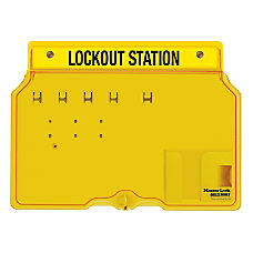 Master Lock Unfilled Padlock Lockout Station