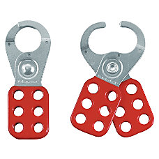 Master Lock Steel Lockout Safety Hasps