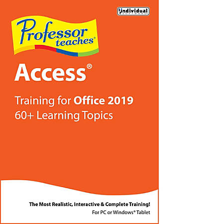 Professor Teaches Access 2019