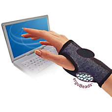 IMAK Computer Glove With ergoBeads Gray
