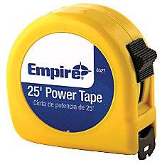 Empire Power Tape Measure SAE 25