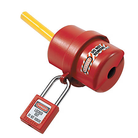 Master Lock® Rotating Electrical Plug Lockout