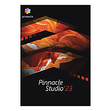 Corel Pinnacle Studio 23 Traditional Disc