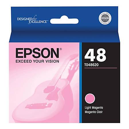 Epson® T0486 (T048620) Light Magenta Ink Cartridge