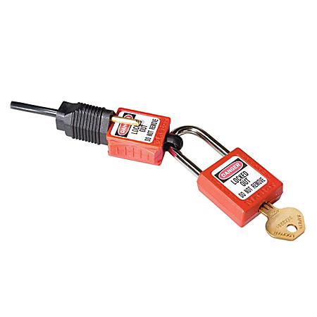 Master Lock® Prong/Plug Lockout