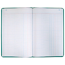 National Brand Sewn Canvas Account Book