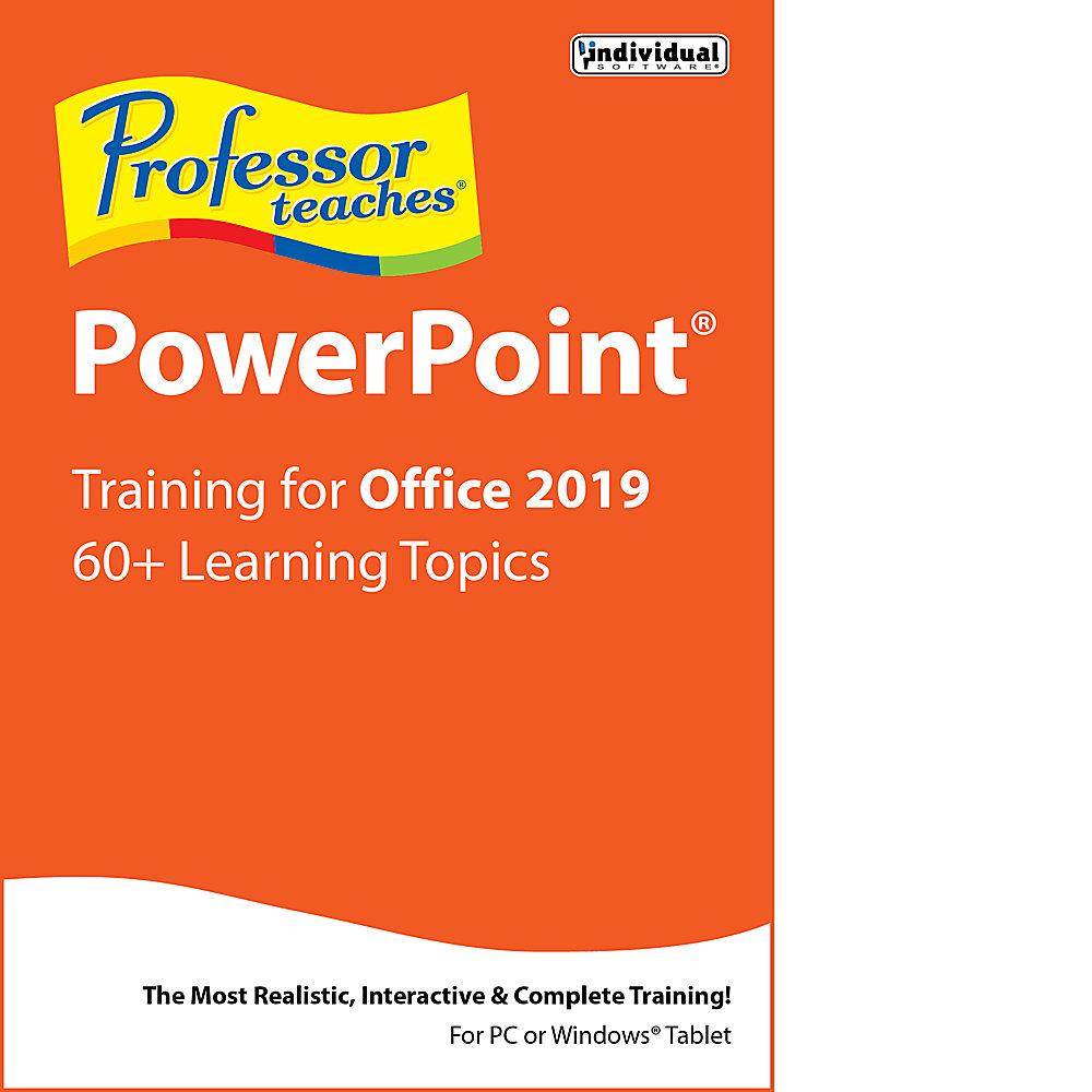 Professor Teaches PowerPoint 2019