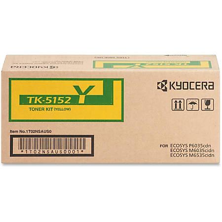 Kyocera TK-5152Y Original Toner Cartridge - Laser - Standard Yield - 10000 Pages - Yellow - 1 Each
