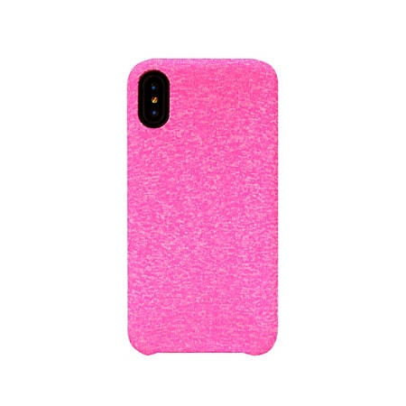 iHome® Heather Protective Case For Apple® iPhone® X, Pink