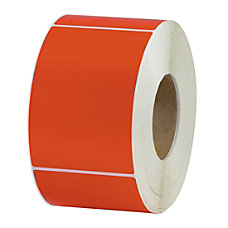 Office Depot Brand Colored Rectangle Thermal
