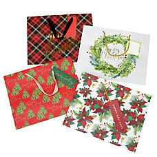Gartner Studios Large Holiday Gift Bags