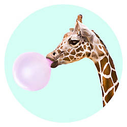 PopSockets Phone Stand Giraffe Bubble Gum