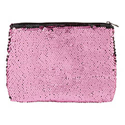 Office Depot Brand Sequined Makeup Bag