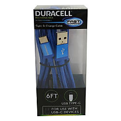 Duracell USB Type C Cable 6