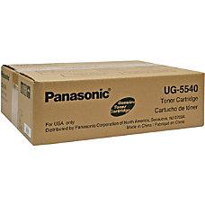 Panasonic UG 5540 Black Toner Cartridge